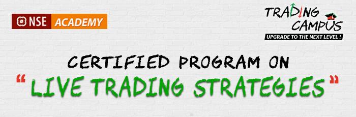 Certified Program on Live Trading Strategies