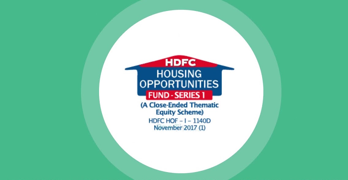 Hdfc housing fund ipo